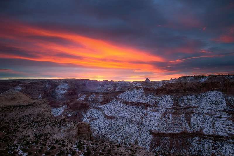 Sunrise at San Rafael Swell