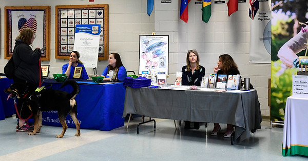3/7/2020 Mike Orazzi | Staff The Central Connecticut Chambers of Commerce's Family Health and Wellness Expo held at Bristol Eastern High School on Saturday.
