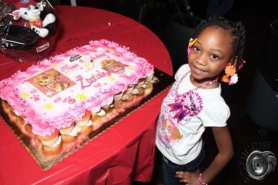 JANUARY 31ST, 2016: ZARIAH'S 5TH BIRTHDAY BASH