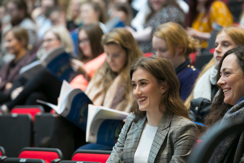 07/03/2018. Waterford Institute of Technology Labatory Sciences Careers Day at The Arena. Picture: Patrick Browne