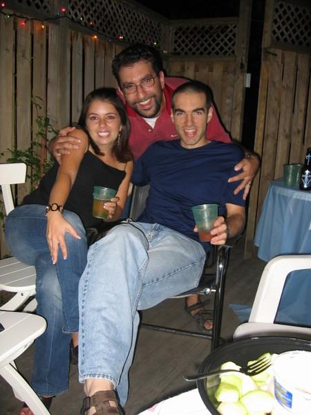 Jonathan, Barak and I