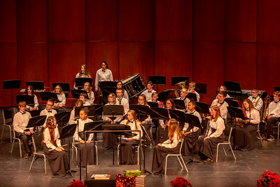 Middle School Band - 12/17/2019 Christmas Concert