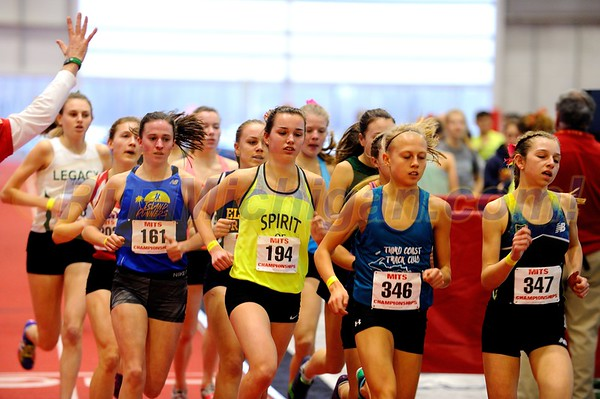 Girl's 3200 Meters Gallery 1 - 2018 MITS State Meet