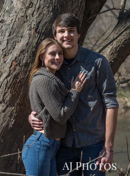 Haley Dull and Trevor Kasulen