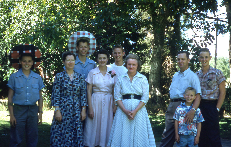 Velma with Turners and Bowers 1953