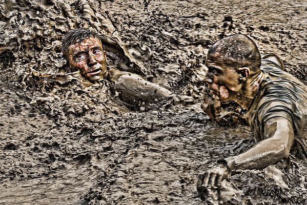 2016 North Carolina Marine Mud Run, Pinnacle, NC, 21 May 2016.