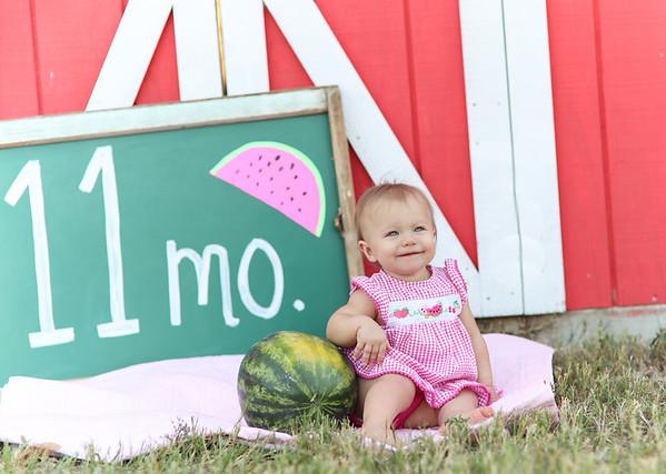 Amelia Blair 11 Months