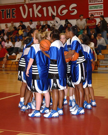 Paducah Tilghman Girls Varsity Basketball vs. Fort Walton Beach for the Tournament Championship   -  December 30, 2005.  Tilghman lost 44-40.