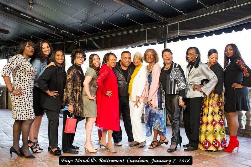 2018 Faye Mandell's Retirement Luncheon