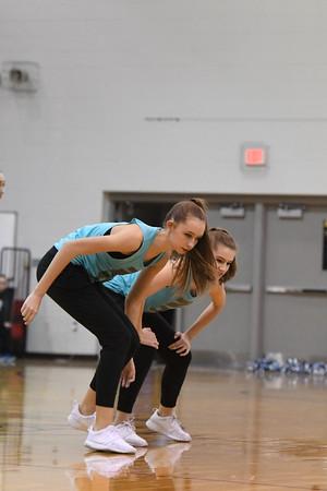 Dance Team @ Plattsmouth BB Game
