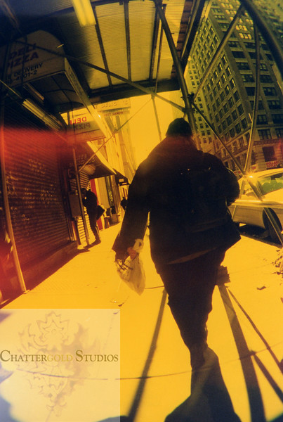 Yellow NYC Man circa 1999