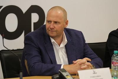 """Пресс-конференция руководства ХК """"Трактор"""". 17 июля 2015"""