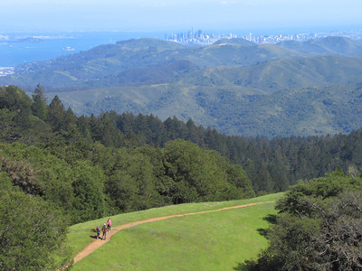Mt. Tam Reverse Circumambulation: Apr 21, 2019