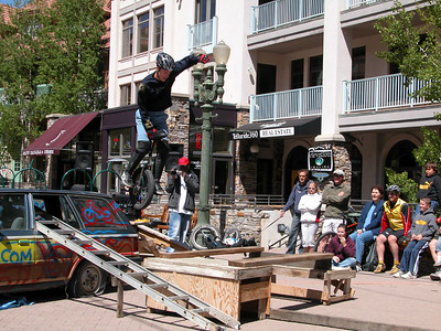 Telluride MountainFilm Festival and Unicycling 2004