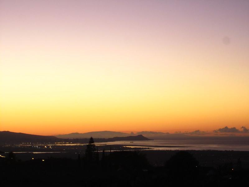 Hawaii - Sunset from Home-4.JPG