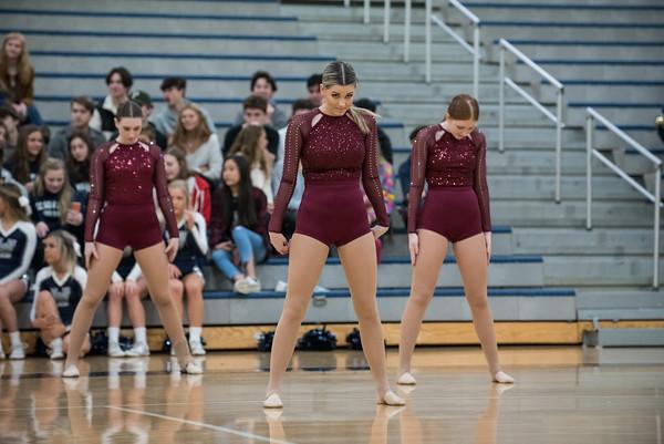 2020 Pride Dance - Girls Basketball vs. Willamette
