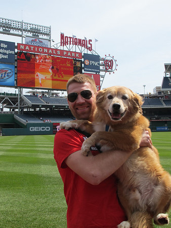 Pups in the Park (Nats vs. Cards - 04/19/14)