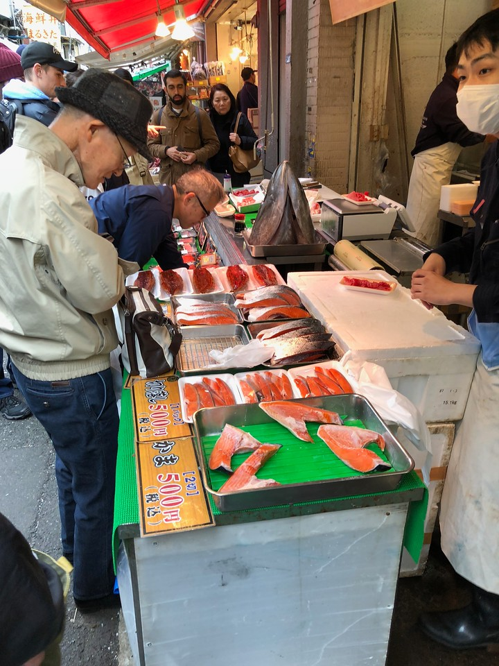 A Visit to Tsukiji Fish Market