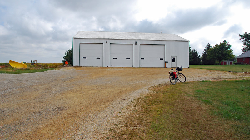 Another Sublette Township garage building