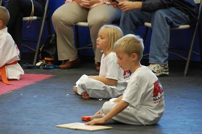 Kids get their belts!!!