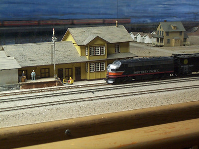 Model Railroad Exhibit - HO Scale