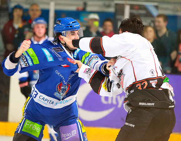 Blaze v Sheffield Steelers - 20/10/2012