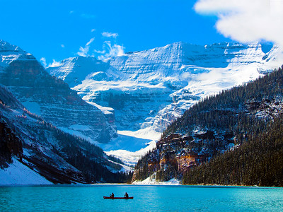 Scenic wonders on the Rocky Mountaineer