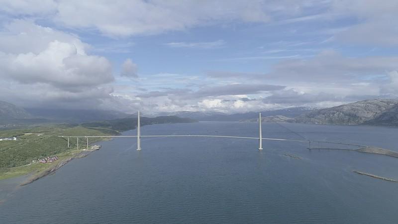 Helgelandsbrua aerial
