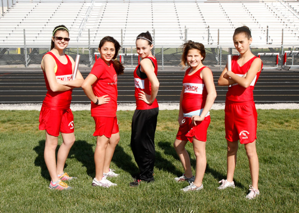SNMS Track Team 2012
