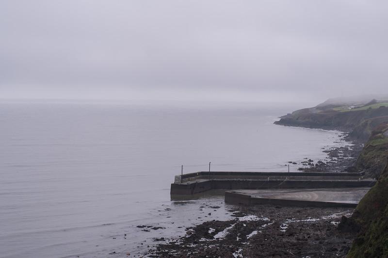 in Tramore - the Irish Sea