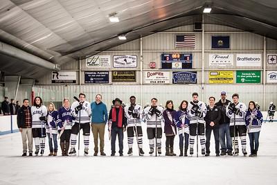 2018 BUHS Hockey Seniors Night