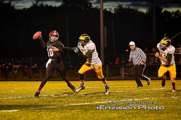 McBain Varsity Football 10-9-15
