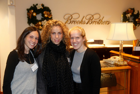 Ovarian Cancer Research Fund Shopping Event at Brooks Brothers_Nov 18, 2009