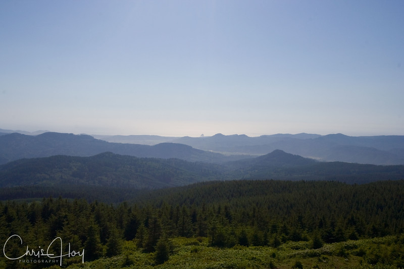 View from Mt. Hebo, Oregon
