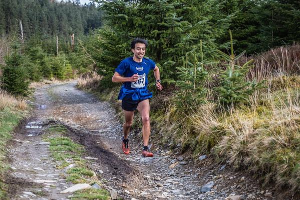Nant yr Arian Silver Trail Half Marathon at 2 Miles