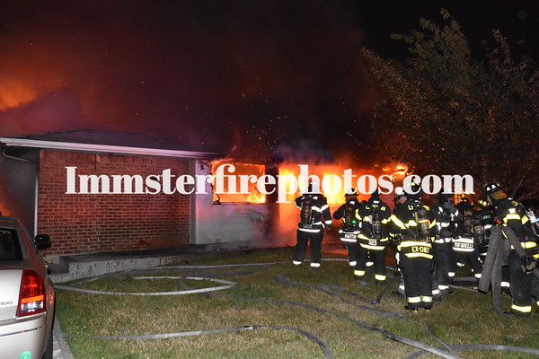 LEVITTOWN FD WADSWORTH HOUSE FIRE 6-9-15