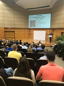 Distinguished Leaders Lecture Series - Ron Williams (11-8-2018)