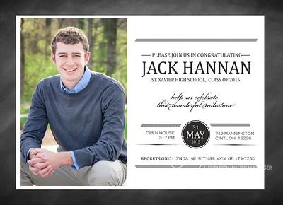 Jack Graduation Announcements