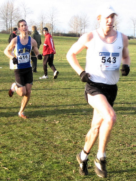 2005 Canadian XC Championships - Kevin Sullivan and Scott Arnald finished 15th and 17th