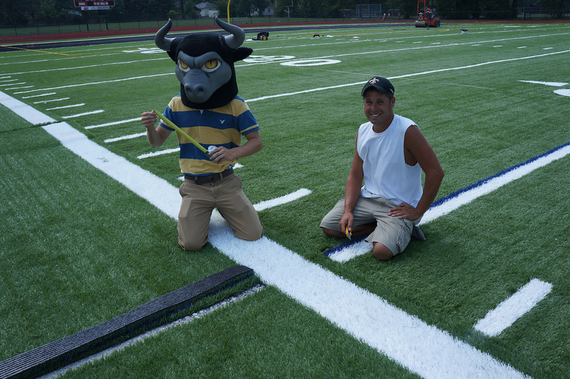 Longhorn-Visits-Field-Turf-Installation-at-Lutheran-West-Alumni-Field-2012--001.jpg