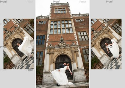 Gemma and Carl at The Riding School, Hatfield House
