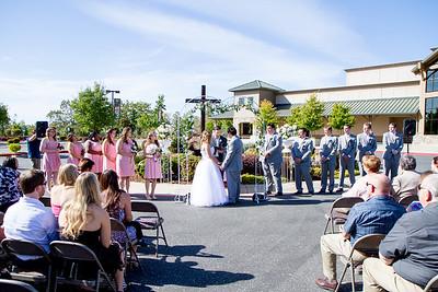 Michael and Alicia Wedding