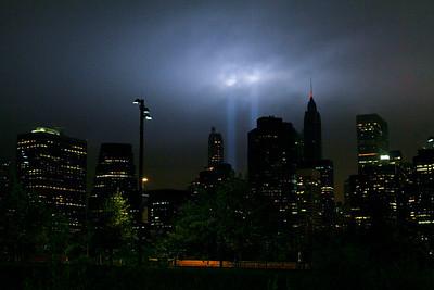 September 11 Tribute Lights (DUMBO 2011)
