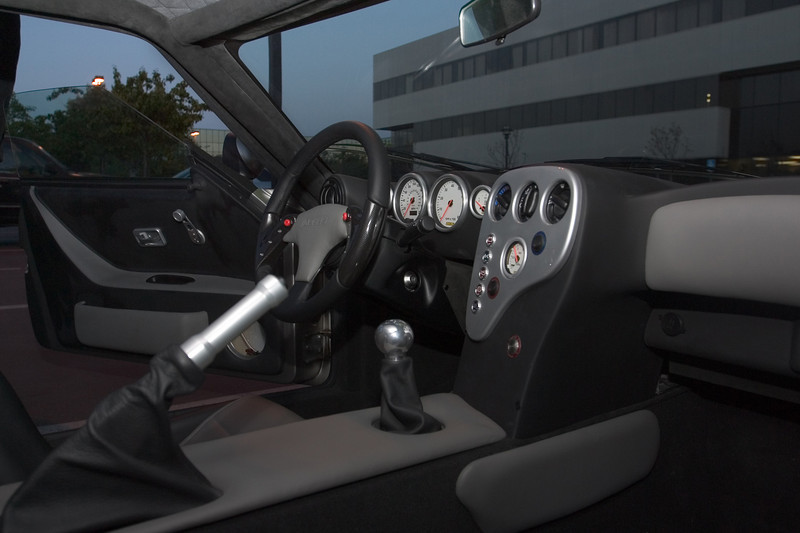Its interior is not exactly luxurious