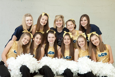 Middle School Pom Squad