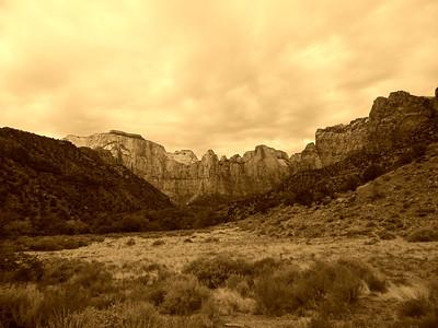 Zion National Park - Monochrome