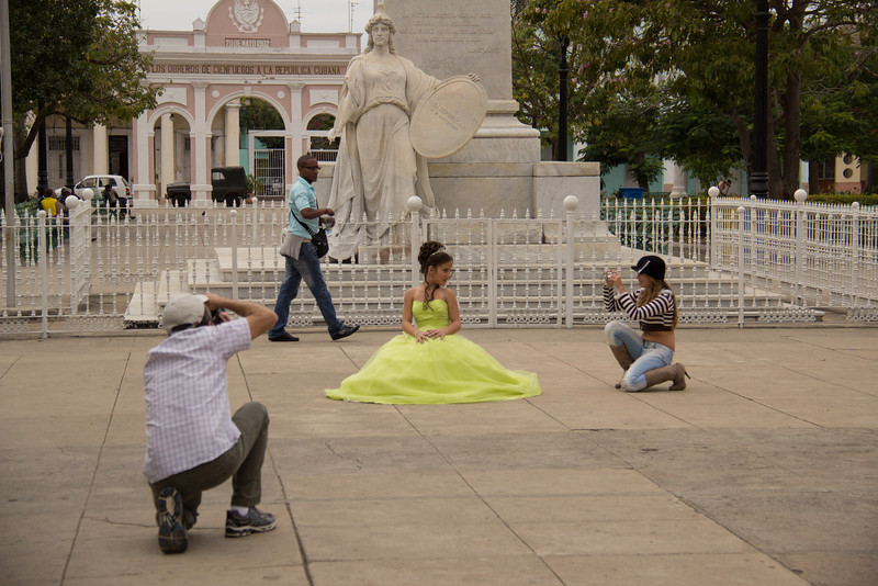 Quinceañera is the celebration of a girl's 15th birthday.