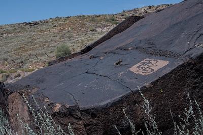 Gunlock petroglyphs