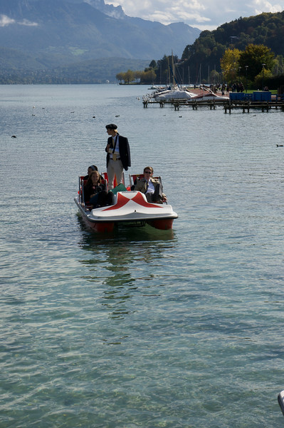 Our Napoleon (Rives) on Lac Annecy