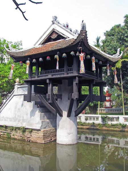 54-One Pillar Pagoda
